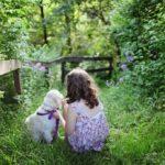 Child & Puppy